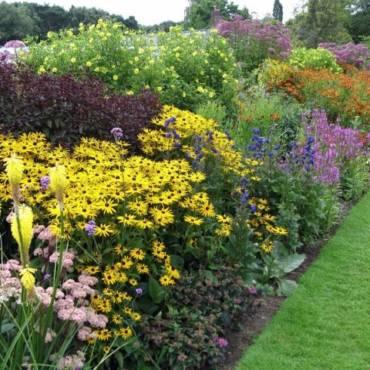 Как правильно сделать цветник: ищем лучшее место для цветника в вашем саду