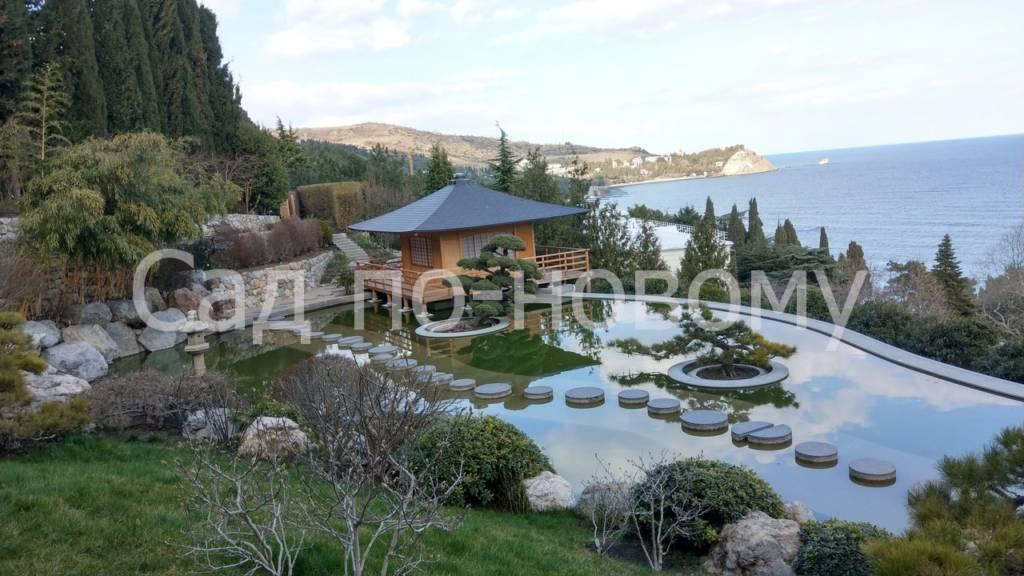 Японский сад в Партените, Крым